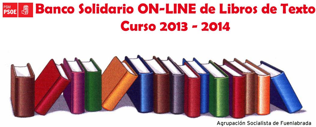 Banco libros de texto 2013