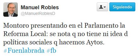 Tuit Robles congreso
