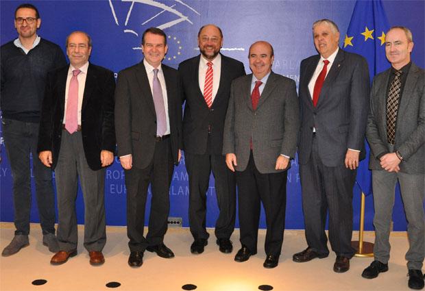Manuel Robles visita Bruselas