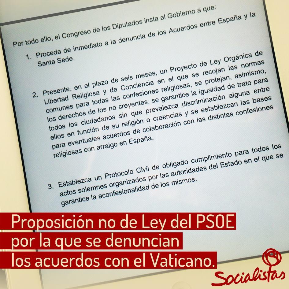 proposicion Vaticano