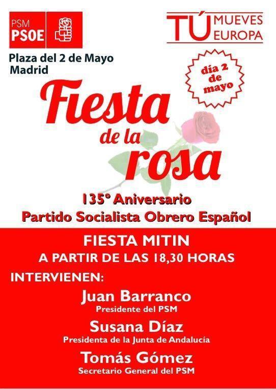 Fiesta de la rosa 2014
