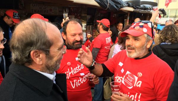 Manuel Robles trabajadores cocacola