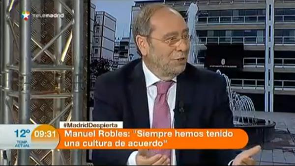 Entrevista Manuel Robles en Madrid Despierta