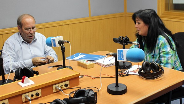 Entrevista a Manuel Robles en Onda Fuenlabrada con motivo de su candidatura a la alcaldía de Fuenlabrada, realizada por Montse G. Bobis el jueves 22 de mayo.