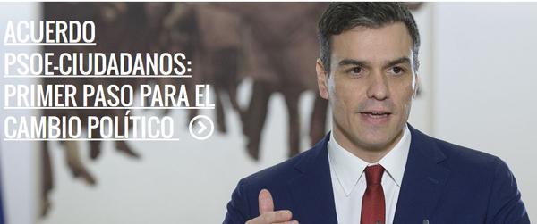 acuerdo PSOE