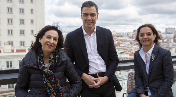 Pedro-Sanchez-Margarita-Robles