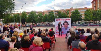Acto de campaña celebrado en la calle Francia el sábado 18 de mayo. Con las intervenciones de : Javier Ayala – Candidato a la Alcaldía de Fuenlabrada Manuel Robles, ex […]