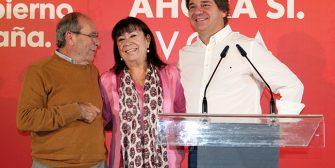 La presidenta del PSOE, Cristina Narbona, el alcalde de Fuenlabrada, Javier Ayala, y el Presidente del PSOE de Madrid, Manuel Robles, han cerrado la campaña para las elecciones generales del […]